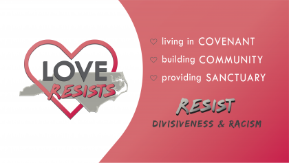 Love Resists NC Training on Resisting Criminalization and Creating Sanctuary