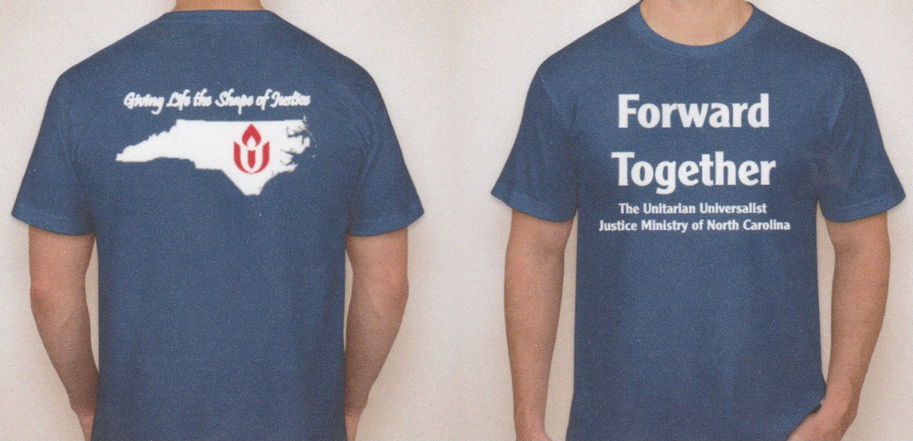 Order Your New, BLUE Forward Together T-Shirt Today!!!