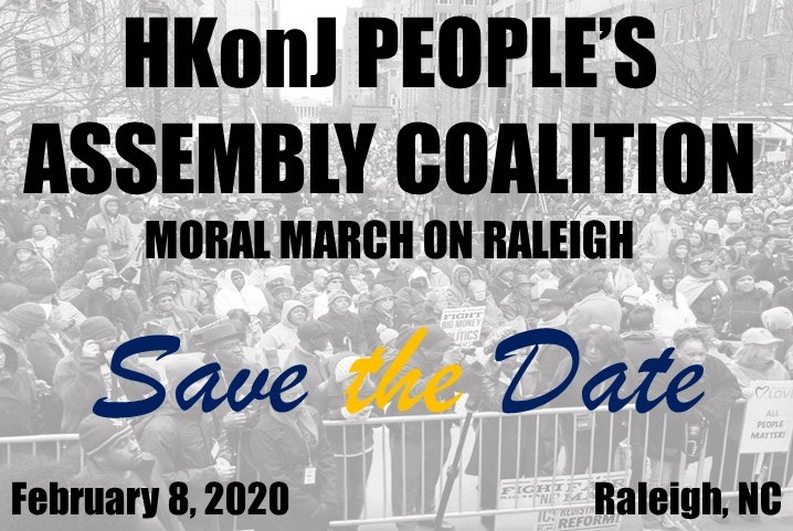 HKonJ Moral March on Raleigh (Feb. 8, 2020)