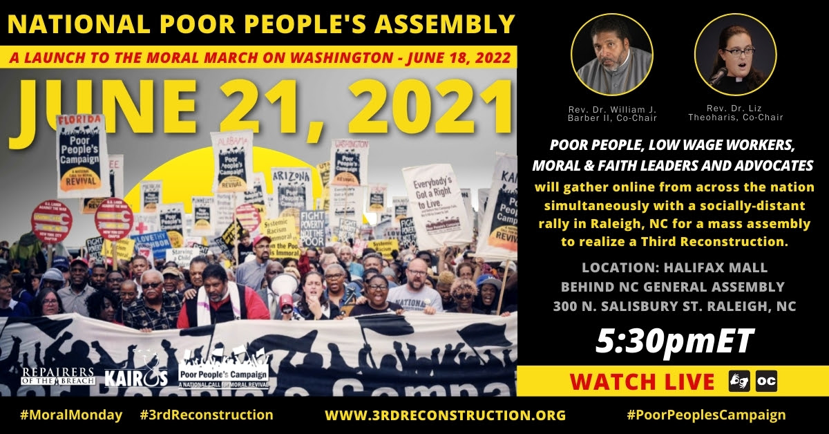 People's Assembly Global Virtual Event Hosted Live from Raleigh!